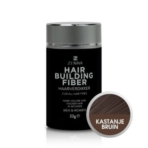 Zenna Hair Building Fibers in kleur kastanjebruin